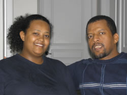 Meet AIU Graduates Betelhem and Yohannes